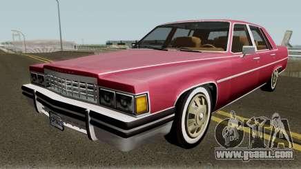 Cadillac Fleetwood Normal 1985 v1 for GTA San Andreas