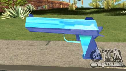 Desert Eagle Blue for GTA San Andreas