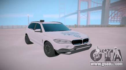 BMW X5M Off-road for GTA San Andreas