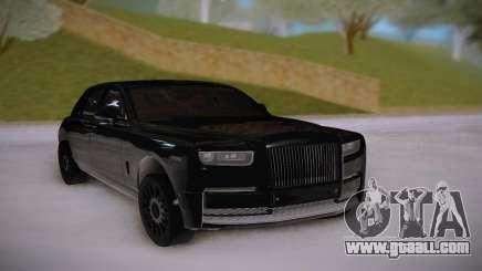 Rolls-Royce Phantom Black for GTA San Andreas