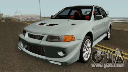 Mitsubishi Lancer Evolution VI HQ for GTA San Andreas
