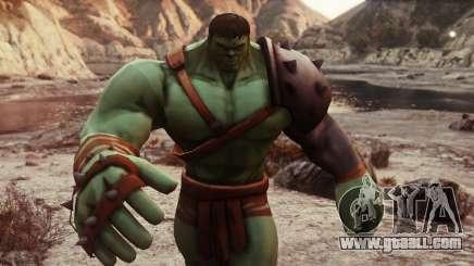 Gladiator Hulk (Planet Hulk) 2.1 for GTA 5
