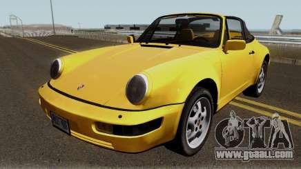 Porsche 911 Carrera 4 (964) (US-Spec) 1989 for GTA San Andreas