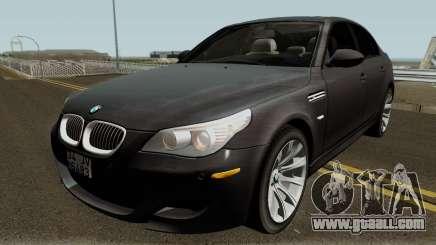 BMW M5 E60 2006 M SPORT for GTA San Andreas