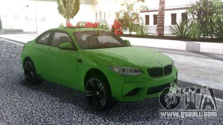 BMW M2 Green for GTA San Andreas