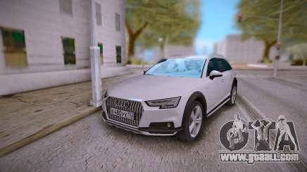 Audi A4 White for GTA San Andreas