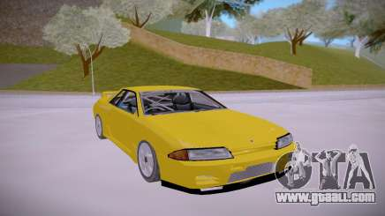 Nissan Skyline GTR R32 LOW for GTA San Andreas