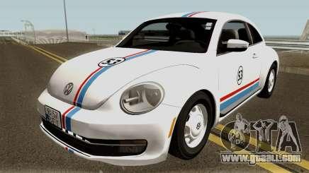Volkswagen Beetle - Herbie 2013 for GTA San Andreas