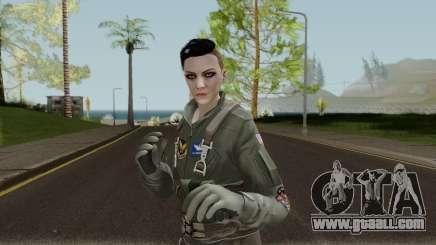 GTA Online Random Skin 6 USAF Pilot for GTA San Andreas