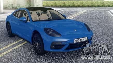 Porsche Panamera Stock for GTA San Andreas
