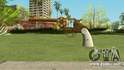 Double Action Revolver GTA 5 for GTA San Andreas