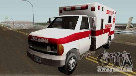 New Ambulance for GTA San Andreas
