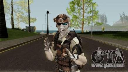 Ghost Recon Future Soldier for GTA San Andreas