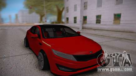 Kia Optima Red for GTA San Andreas