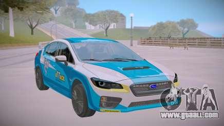 2017 Subaru WRX STI Rally for GTA San Andreas