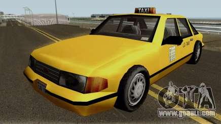New Taxi IVF for GTA San Andreas