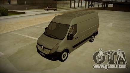 Renault Master 2017 Finland License Plates for GTA San Andreas
