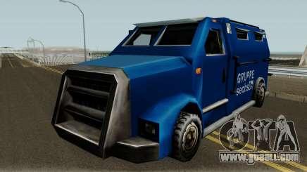 New Securicar for GTA San Andreas