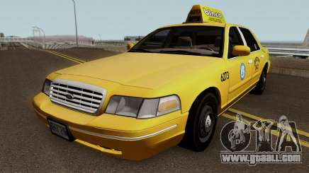 Ford Crown Victoria Taxi Downtown Cab v1.0 2003 for GTA San Andreas