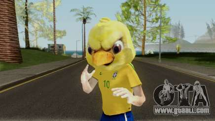 Canarinho Pistola for GTA San Andreas