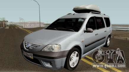 Dacia Logan MCV 1.5dci 2007 for GTA San Andreas