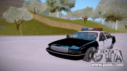 Chevrolet Caprice 1992 Police LQ for GTA San Andreas