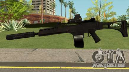 G36C Black for GTA San Andreas