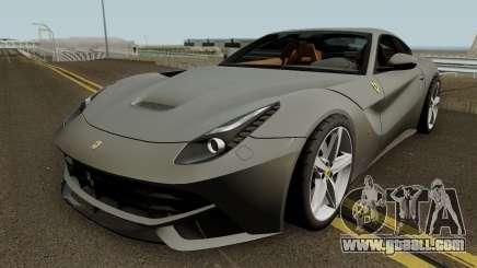 Ferrari F12 Berlinetta 2012 for GTA San Andreas