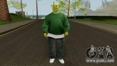 Shrek GSF for GTA San Andreas second screenshot