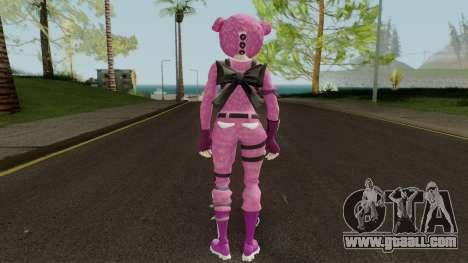 Fortnite Pink Teddy Bear for GTA San Andreas third screenshot