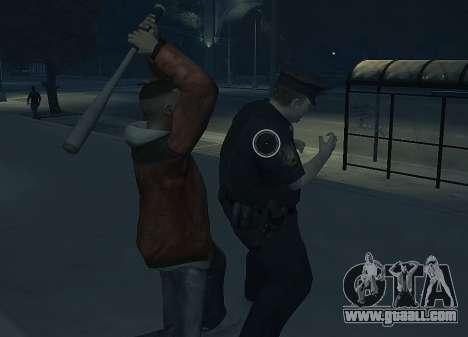 Melee Fight Mod II for GTA 4 second screenshot