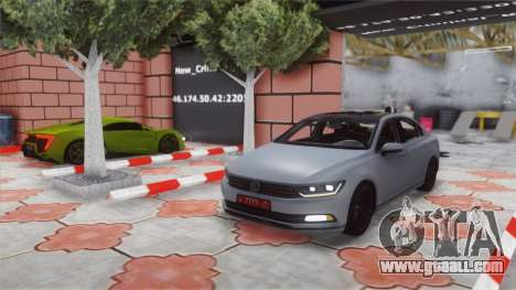Volkswagen Passat B8 for GTA San Andreas back left view