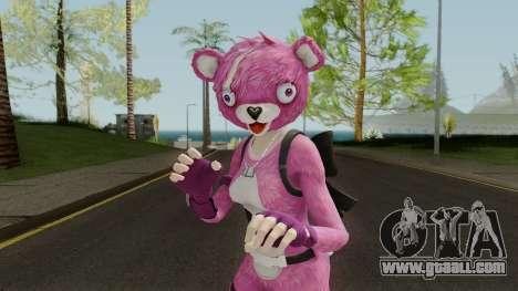Fortnite Pink Teddy Bear for GTA San Andreas