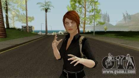 Anna Grimsdottir Blacklist Skin for GTA San Andreas