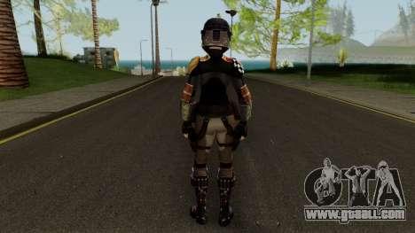 Star Wars Rebels Sabine Wren for GTA San Andreas third screenshot