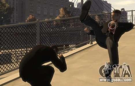 Melee Fight Mod II for GTA 4 third screenshot