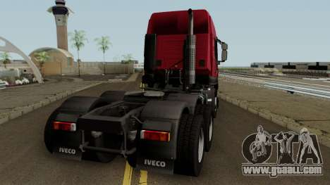 Iveco Trakker Cab High 6x4 for GTA San Andreas right view