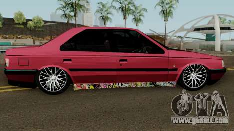Peugeot 405 GLX for GTA San Andreas back view