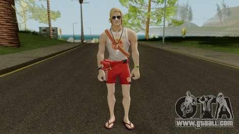 Fortnite Sun Tan Specialist for GTA San Andreas second screenshot