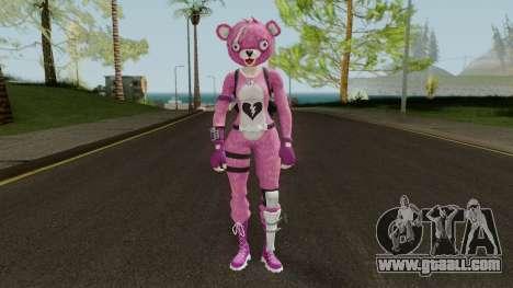 Fortnite Pink Teddy Bear for GTA San Andreas second screenshot