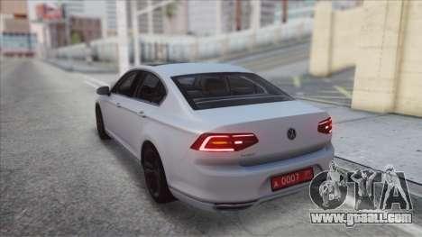 Volkswagen Passat B8 for GTA San Andreas left view