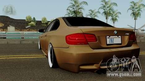BMW M3 E92 2010 for GTA San Andreas