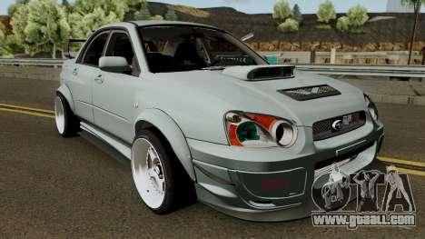 Subaru Impreza WRX STI Custom for GTA San Andreas