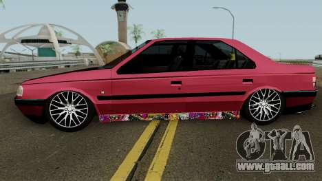 Peugeot 405 GLX for GTA San Andreas left view