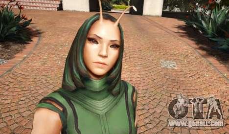 GTA 5 Mantis From Infinity War 1.0