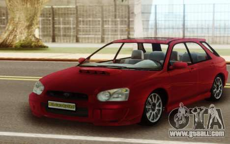 Subaru Impreza WRX Wagon for GTA San Andreas