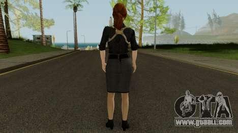 Anna Grimsdottir Blacklist Skin for GTA San Andreas third screenshot