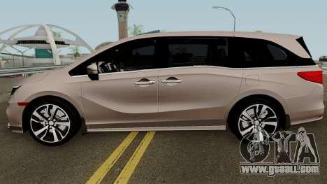 Honda Odyssey Elite 2018 for GTA San Andreas