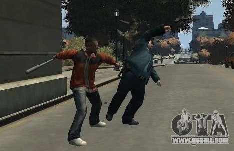 Melee Fight Mod II for GTA 4 sixth screenshot