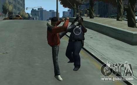 Melee Fight Mod II for GTA 4